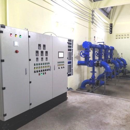 Tủ bơm điều áp trong hệ thống cấp nước công nghiệp và dân dụng